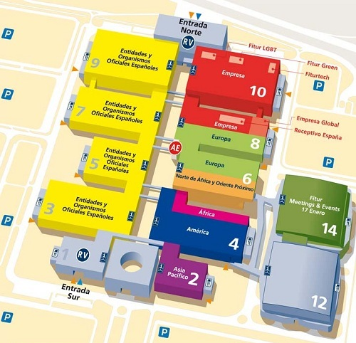 mapa stands fitur